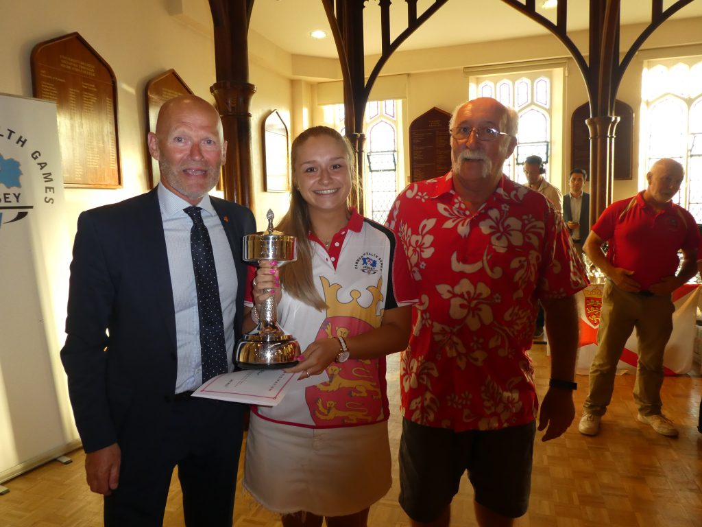 Congratulations to Sophie Le Blond on winning the Ken Webb Trophy.